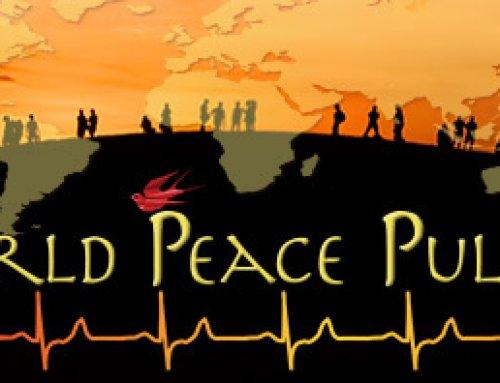 6 juli  de Wereld Vredes Vlam in Nijmegen