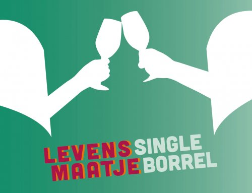 12 November Single borrel voor 45 plussers in De Kluizenaar